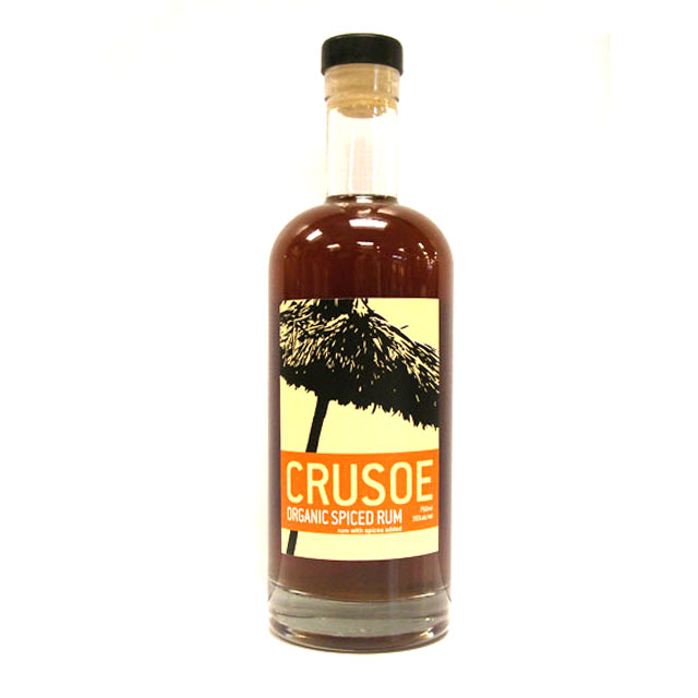 Crusoe Organic Spiced Rum - Scotland Stephenson Spirits Reviews