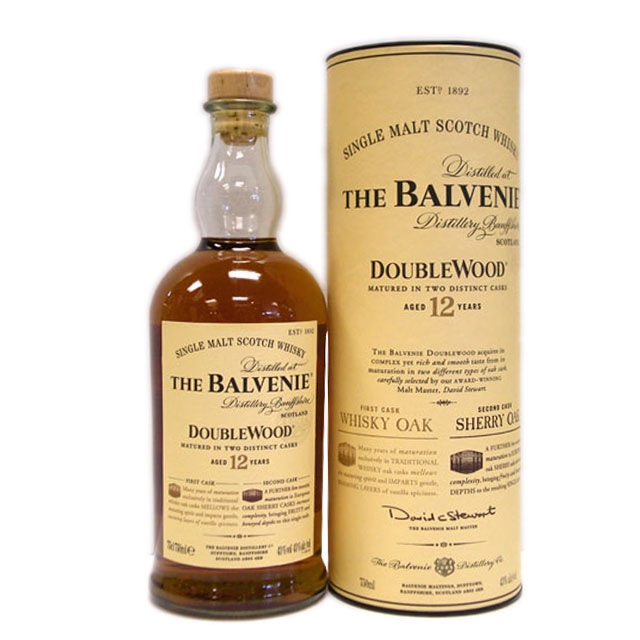Balvenie 12-yr doublewood single malt