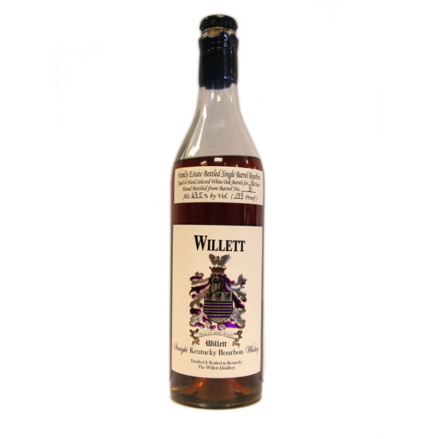 Willet Family Estate Single Barrel Bourbon 16 Year Barrel No. 31