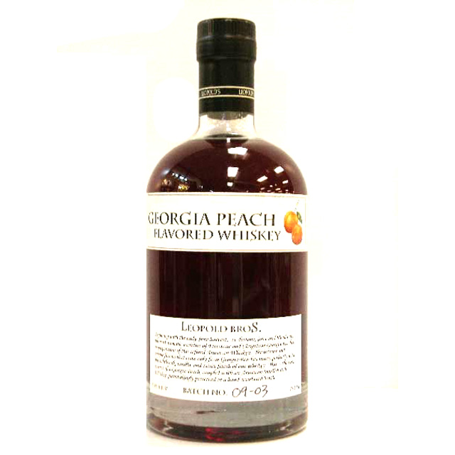 Leopold Brother's Georgia Peach Flavored Whiskey