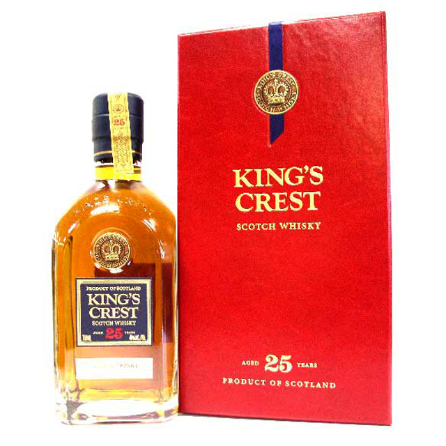 King's Crest 25 Year Blended Scotch
