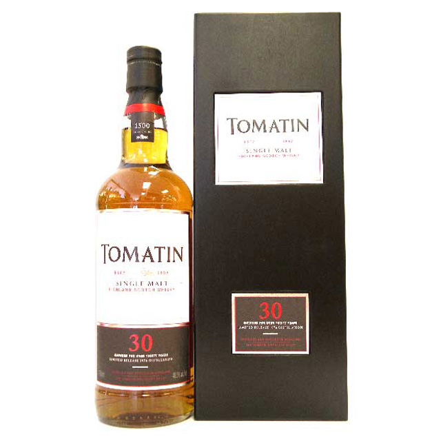 Tomatin 30 year Limited release 1976 Distillation